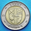 Монета Ганы 100 седи 1999 год.