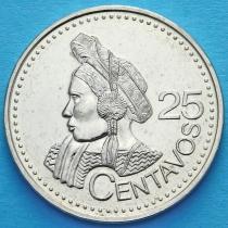 Гватемала 25 сентаво 2000 год. Индианка