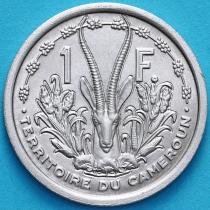Камерун 1 франк 1948 год.