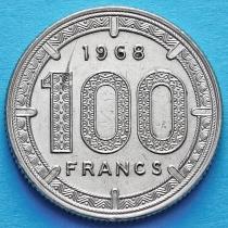 Камерун 100 франков 1968 год.