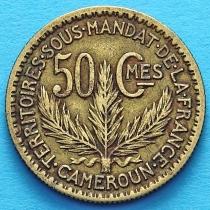 Камерун 50 сантимов 1926 год.