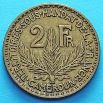 Камерун 2 франка 1924 год.
