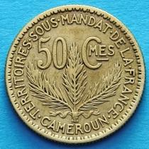 Камерун 50 сантимов 1925 год.