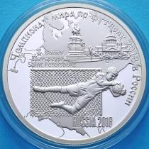 Камерун 1000 франков 2017 год. Стадион Крестовский. Серебро.