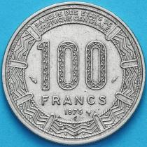 Конго 100 франков 1975 год.