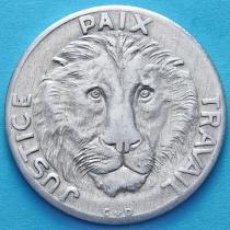 Конго 10 франков 1965 год. Лев.