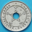 Монета Бельгийское Конго 5 сантим 1911 год.