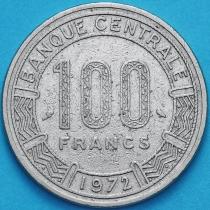 Конго 100 франков 1972 год. №2