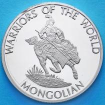 Конго 10 франков 2010 год. Монгольский воин.