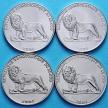 Конго 2004 г. Набор 4 Монеты