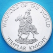 Монета Конго 10 франков 2010 год. Рыцарь ордена Тамплиеров.