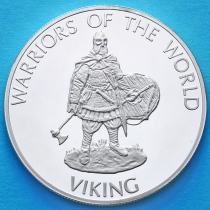 Конго 10 франков 2010 год. Викинг.