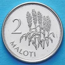 Лесото 2 малоти 2010 год. Соцветия кукурузы.