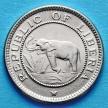 Монета Либерии 1/2 цента 1941 год. Слон.