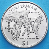 Либерия 1 доллар 1997 год. Битва за Британию