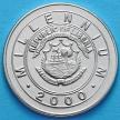 Монета Либерии 1 доллар 2000 год. год дракона. Миллениум.
