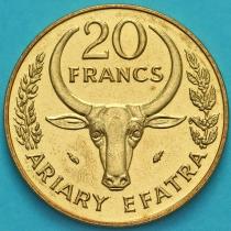 Мадагаскар 20 франков 1986 год.