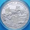 Монета Малави 20 квача 2009 год. Соляная дорога. Древний Рим. Серебро