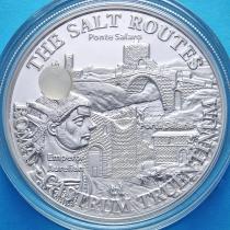 Малави 20 квача 2009 год. Соляная дорога. Древний Рим. Серебро