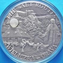 Малави 20 квача 2009 год. Соляная дорога. Величка-Орава. Серебро, Antique Finish