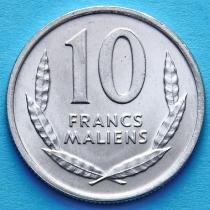 Мали 10 франков 1961 год. Лошадь.