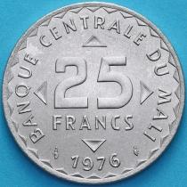 Мали 25 франков 1976 год. Африканский рис