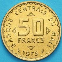 Мали 50 франков 1975 год. ФАО