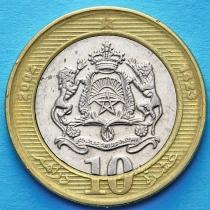 Марокко 10 дирхам 2002 (1423) год.