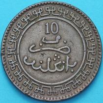 Марокко 10 мазун 1902 год.