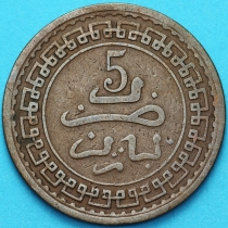 Марокко 5 мазун 1903 год. №1