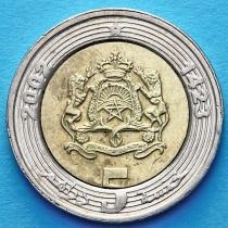 Марокко 5 дирхам 2002 (1423) год.