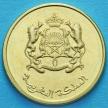 Монета Марокко 20 сантим 2016 (1437) год. Лотос.