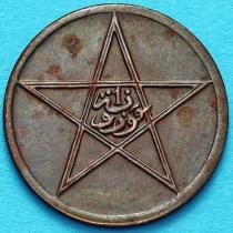 Марокко 1 мазун 1912 год. №5