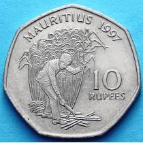 Маврикий 10 рупий 1997-2000 год.