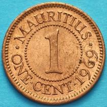 Маврикий 1 цент 1969 год.
