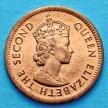 Монета Маврикия 1 цент 1978 год.