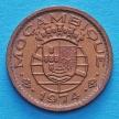 Лот 20 монет Мозамбика 20 сентаво 1974 год.