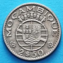 Португальский Мозамбик 2,5 эскудо 1954-1973 год.