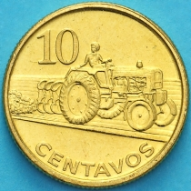 Мозамбик 20 сентаво 2006 год. Хлопок