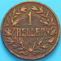 Немецкая Восточная Африка 1 геллер 1904 год.А