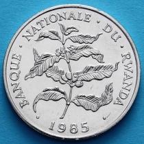 Руанда 10 франков 1985 год. Кофе.