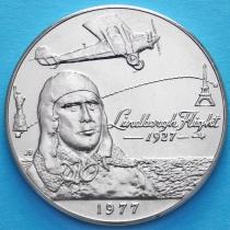 Самоа 1 тала 1977 год. 50 лет первому перелёту через Атлантический океан.