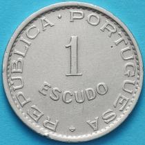 Сан Томе и Принсипи 1 эскудо 1951 год.