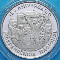 Сан Томе и Принсипи 1000 добра 1990 год. 15 лет Независимости.