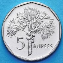 Сейшельские острова 5 рупий 2010 год