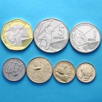 Сейшельские острова набор 7 монет 2016 год.