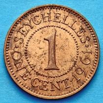 Сейшельские острова 1 цент 1961 год.