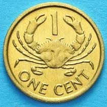 Сейшельские острова 1 цент 1997 год.