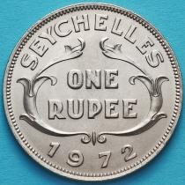 Сейшельские острова 1 рупия 1972 год.