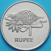 Сейшельские острова 1 рупия 1977 год.